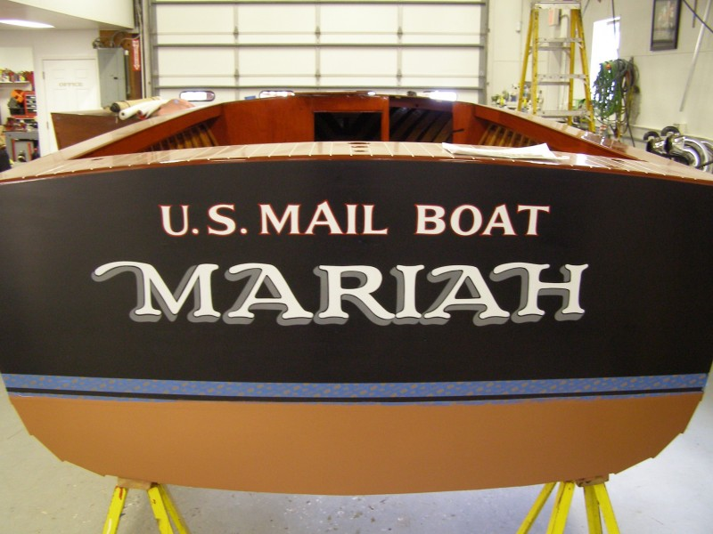 """Another original boat from the movie """"On Golden Pond"""" ."""